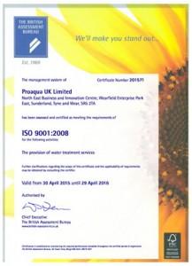 72992-proaqua uk limited certificate